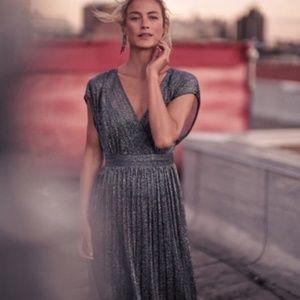 Anthropologie Moulinette Soeurs Metallic Dress 4